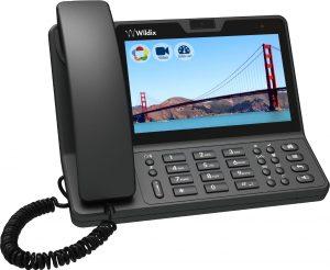 VOIP Telefon mit Videokonferenz und Touchbildschirm